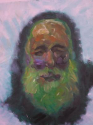 retrato de un pintor